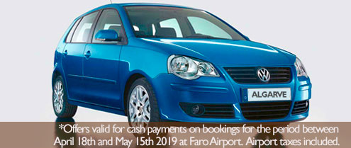 Special offer for Car hire in Faro Airport